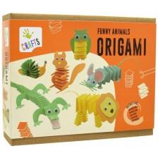 Творчески комплект Andreu toys - Оригами, смешни животни -1