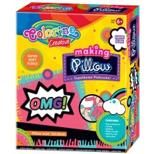 Творчески комплект Colorino Creative - Направи си сам възглавничка -1