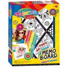 Творчески комплект Colorino Creative - Дъска за спомени -1