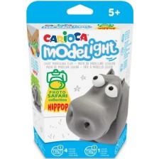 Творчески комплект Carioca Modelight PlayBox - Хипопотам -1
