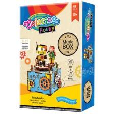 Творчески комплект Colorino Hobby - Направи си сам музикална кутия с човече -1