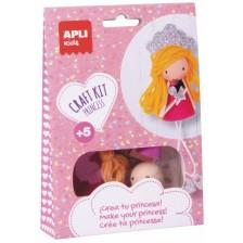 Творчески комплект Apli - Направи си сам принцеса -1