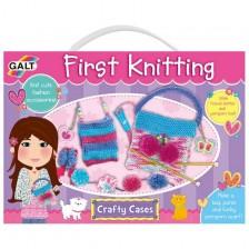 Творчески комплект Galt - Първи стъпки в плетенето -1