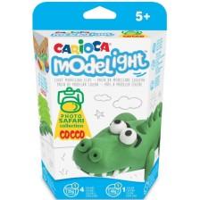 Творчески комплект Carioca Modelight PlayBox - Крокодил -1