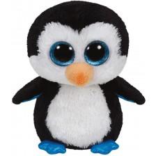 Плюшена играчка TY Beanie Boos - Пингвинче Waddles, 15 cm -1