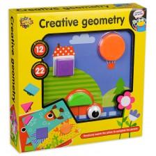 Игрален комплект Happy Toys - Креативна геометрия -1