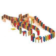 Детска игра Woody - Домино-рали, 200 части -1