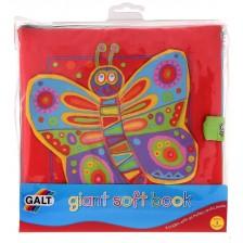 Бебешка играчка Galt - Мека книжка -1