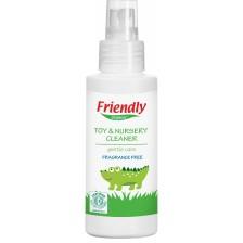 Универсален почистващ препарат Friendly Organic - За играчки, 100 ml -1