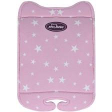 Универсална подложка за стол за кола с пълнеж Sevi Baby, розова -1