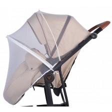 Универсален комарник за количка Cangaroo,  бял -1
