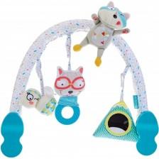 Универсална арка с играчки Badabulle - Mountain -1
