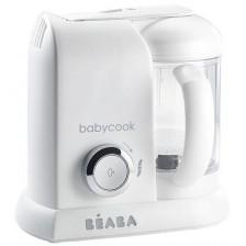 Уред за готвене Beaba - Babycook Solo, white/silver, EU Plug -1