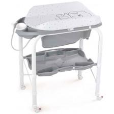 Вана за къпане със стойка Cam - Cambio, сива -1