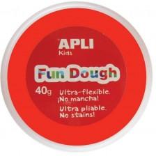 Вълшебно тесто за моделиране Apli - Червено, 40g -1
