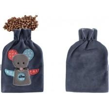 Възглавница за облекчаване на колики с черешови костилки Sevi Baby - Сива -1
