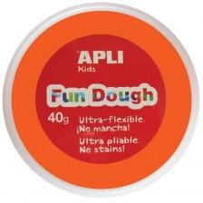 Вълшебно тесто за моделиране Apli - Оранжево, 40g -1
