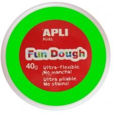 Вълшебно тесто за моделиране Apli - Светлозелено, 40g -1