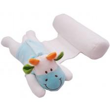 Възглавничка за спане настрани с играчка Sevi Baby - Кравичка -1