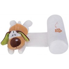 Възглавничка за спане настрани с играчка Sevi Baby - Куче -1