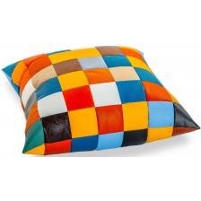 Възглавница Barbaron - Patchwork, многоцветна -1