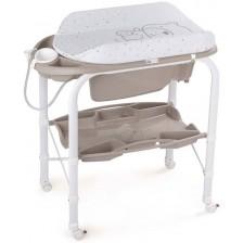 Вана за къпане със стойка Cam - Cambio, бежова -1