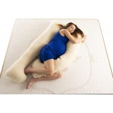 Възглавница за бременни Medico - Happy Mom Organic Wool, U-образна форма -1