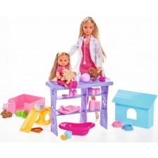 Кукла Simba Toys Steffi Love - Стефи, ветеринар -1