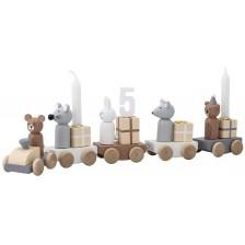 Влакче Bloomingville – Традиция за рожден ден, със свещички -1