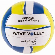 Волейболна топка John - Wave Volley, Асортимент, 20 cm -1