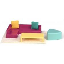 Комплект мини мебели Lori Dolls - Всекидневна за кукли -1
