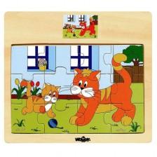 Пъзел Woody Домашни животни  - Котенца -1