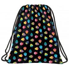 Спортна торба BackUP A5 - Colorful Strawberries -1