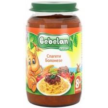 Ястие Bebelan Puree - Спагети болонезе, 220 g -1