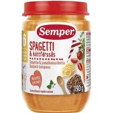 Ястие Semper - Спагети с говеждо месо, 190 g -1