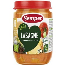Ястие Semper Eko - Лазаня, 190 g -1