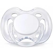 Залъгалка Philips Avent - Sensitive, 0-6 m, бяла -1