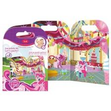 Активна игра със стикери Revontuli Toys Oy - Моето малко пони, Партито на Пинки Пай -1