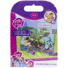 Активна игра със стикери Revontuli Toys Oy - Моето малко пони, Къщата на Спаркъл -1