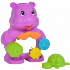 Играчка за баня Simba Toys - ABC, хипопотамче -1