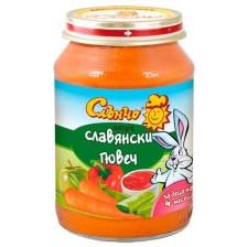Зеленчуково пюре Слънчо - Славянски гювеч, 190 g -1