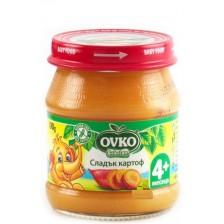 Зеленчуково пюре Bebelan Ovko - Сладък картоф, 100 g -1