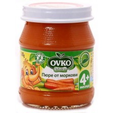 Зеленчуково пюре Bebelan Ovko - Моркови, 100 g -1