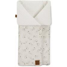 JANE Mims Универсален чувал - одеяло за кош Safari -1