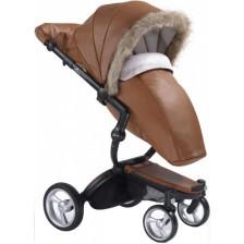 Mima Зимен комплект за количка Xari – Camel -1