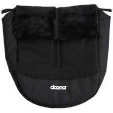 Зимен чувал за столче и количка Doona, черно  -1