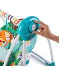 Бебешка електрическа люлка Bright Starts Safari Surprise - 4t