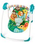 Бебешка електрическа люлка Bright Starts Safari Surprise - 1t