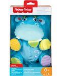 Бебешка играчка Fisher Price  - Хипопотамче, 2 в 1 - 5t