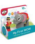 Детска играчка WOW Toys - Слончето Ели и нейният дресьор - 2t